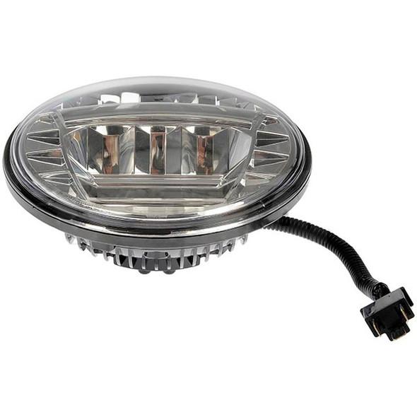 """Mack 7"""" Round LED Sealed Beam Headlight Side"""