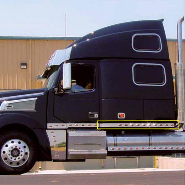 Volvo VT880 Sleeper Panels By Roadworks On Truck