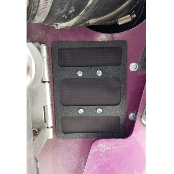 Kenworth Fresh Air Filter Pre-Filter By Freedom Air Filters Installed