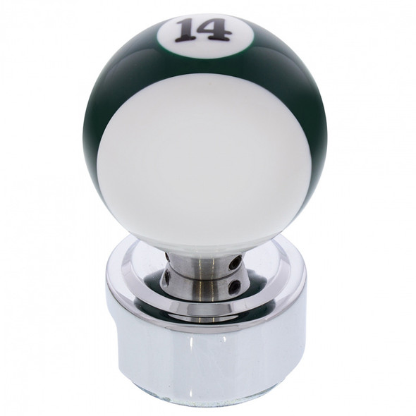 Pool Ball Gearshift Knob With Adapter #14