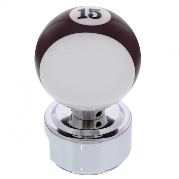 Pool Ball Gearshift Knob With Adapter #15