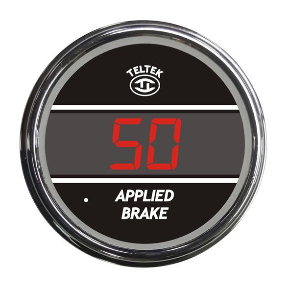 Truck Applied Brake TelTek Gauge - Red