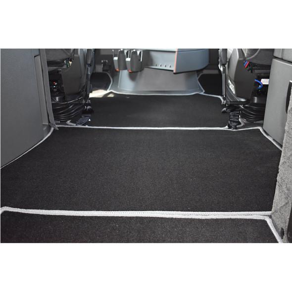 Volvo VNL 860 Premium Carpet Floor Mats Front View