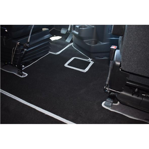 Freightliner Cascadia New Body Style Premium Carpet Floor Mats Side View