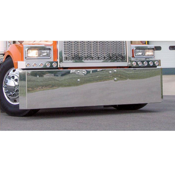 Western Star 4900 Stainless Steel Bumper By Roadworks Front