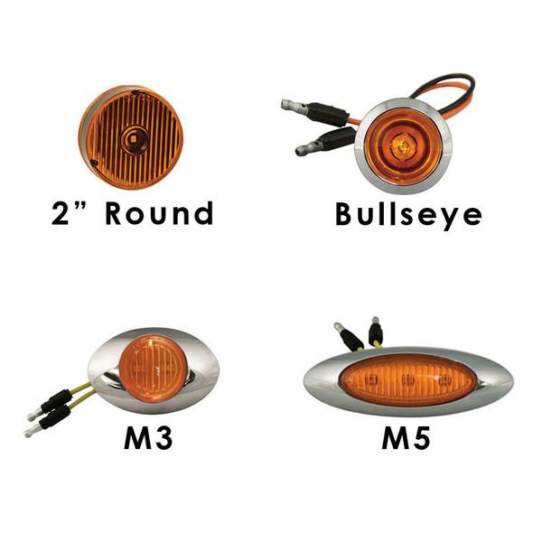International HX520 Untie Drop Visor LEDS