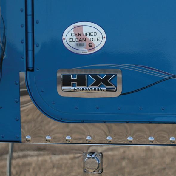International HX520 Logo Trims - Framed