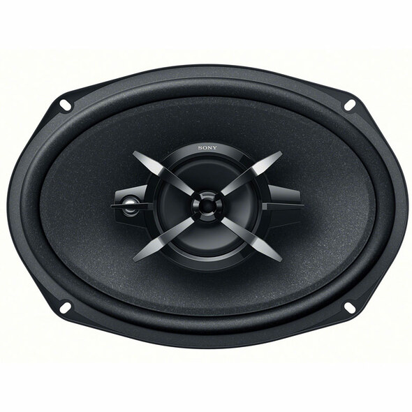 """6"""" x 9"""" 3 Way Triaxial 60W RMS Speaker- No Cover"""