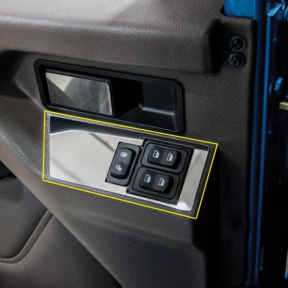 International HX520 Window And Lock Control Trims - Shown