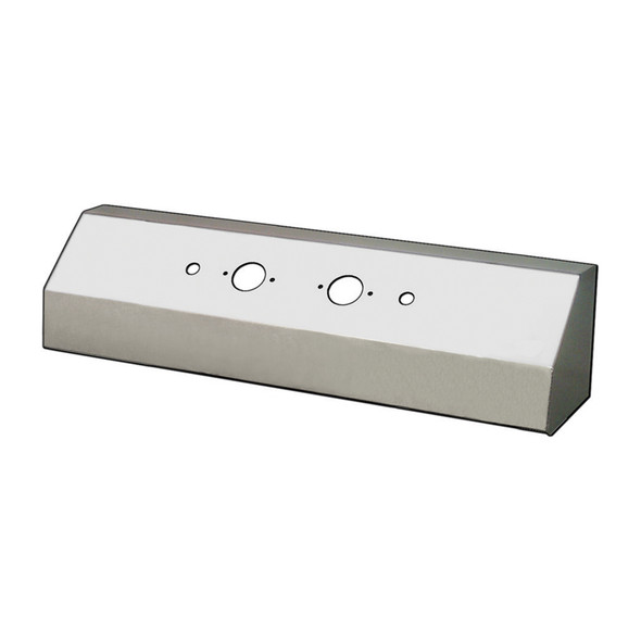 Universal Double Connector Airline Box - Blank