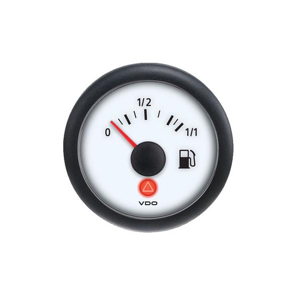 Semi Truck Fuel Level Gauge Viewline Ivory - 3-180 Ohm