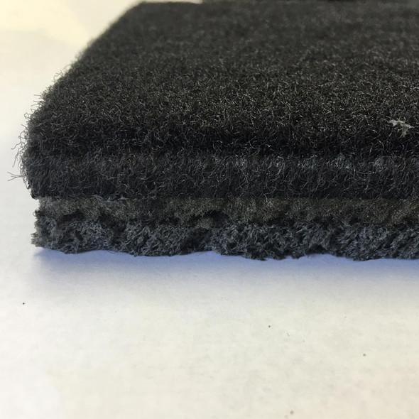 "Peterbilt Kenworth Western Star 60"" x 72"" Black Carpet Floor Mat"