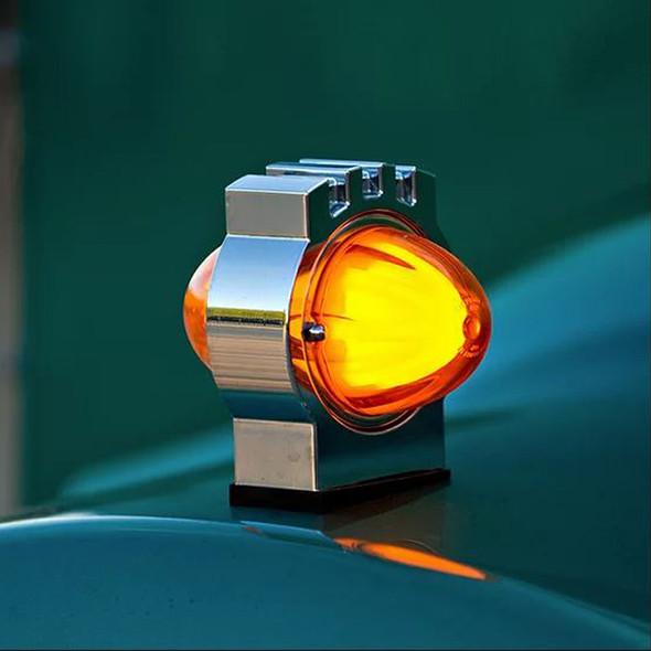 Kenworth Billet Turn Signal Light On