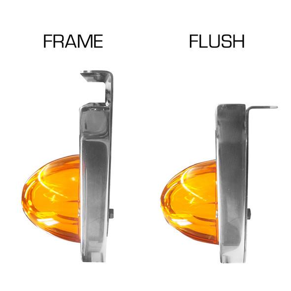 Universal Billet Light Bracket Angled Frame & Flush Styles