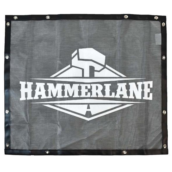 Black Bug Screen With Custom Hammerlane Logo