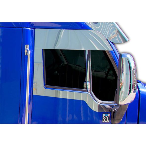 Peterbilt 587 Stainless Steel Daylight Door Below Window Trims