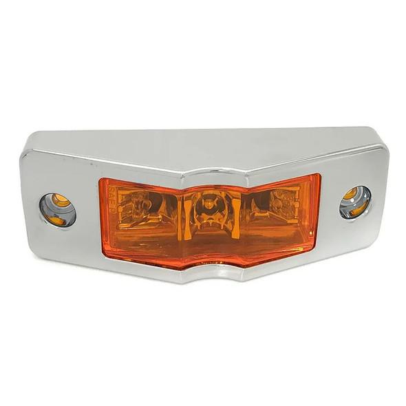 LED Clearance Marker Light With Chrome Bezel