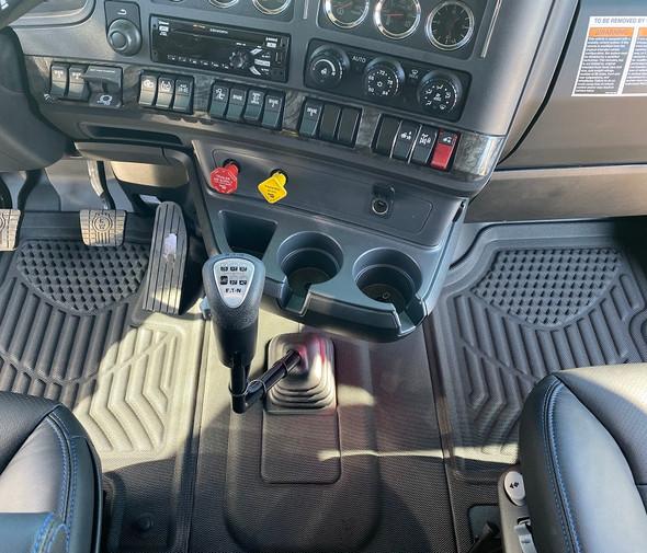 Kenworth W990 Manual Transmission Redline Floor Mat