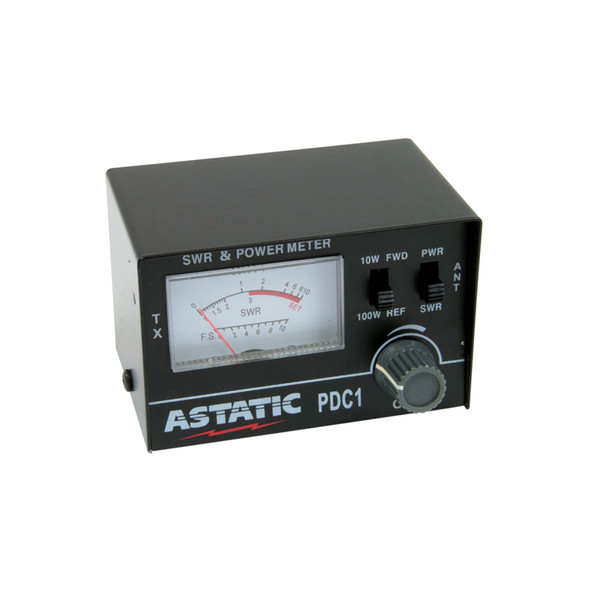Astatic CB Radio SWR RF Meter PFC1