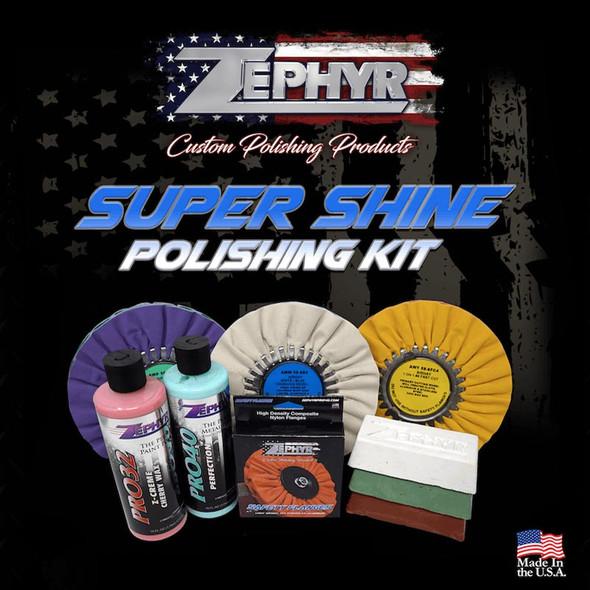 Zephyr Super Shine Polishing Kit