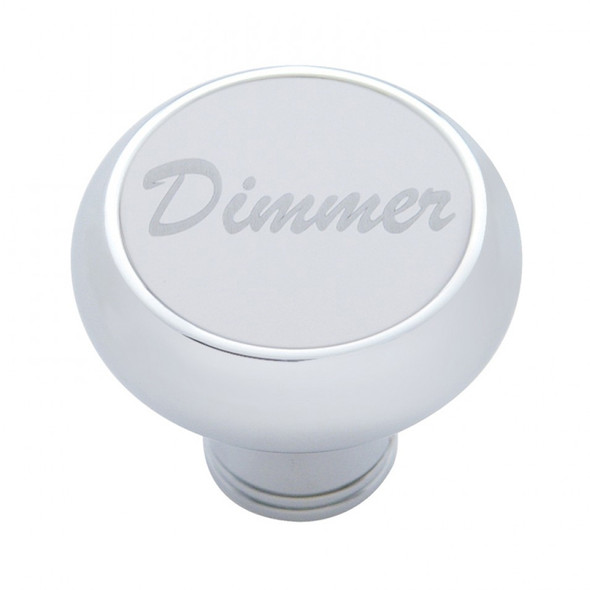 Deluxe Dash Knob With Stainless Plaque By Grand General - Dimmer