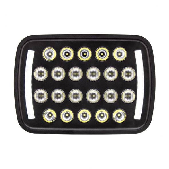 "5"" X 7"" Rectangular 22 LED High Power Headlight"