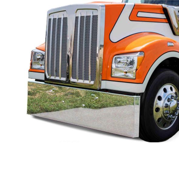 Kenworth W990 Bumper On Orange Truck