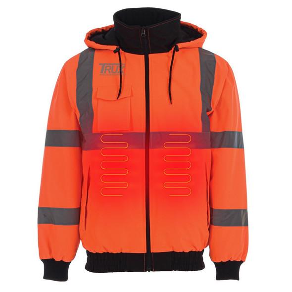 Trux Heated Work Safety Jacket Heated