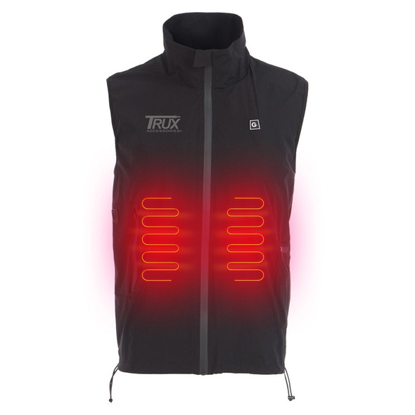 Trux USB Heated Light Weight Vest Heated Front