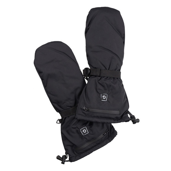 Heated Waterproof Wind Resistant Mitts With Power Bank