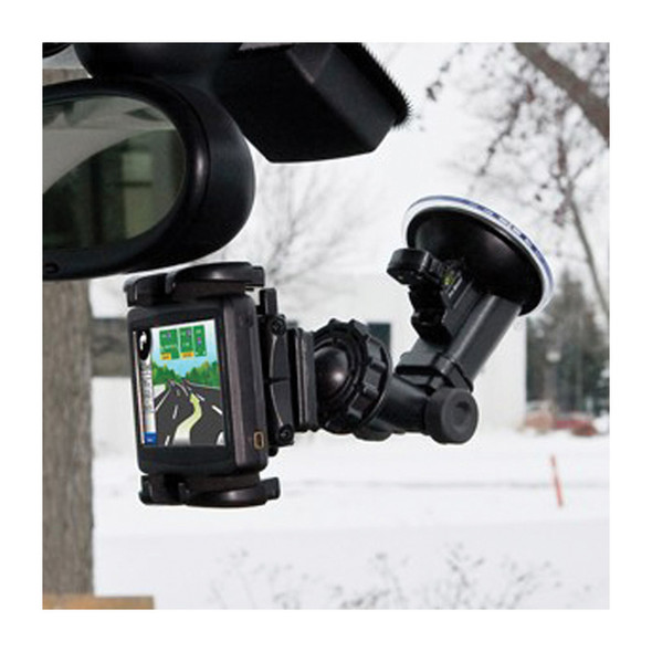 Windshield GPS And Phone Mount Mounted