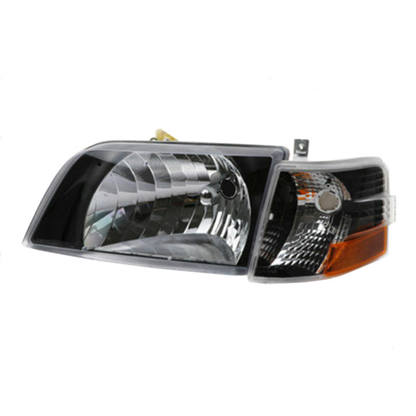 Volvo VNL Series Blackout Performance Headlight/Turn Signal Assembly - Driver Side