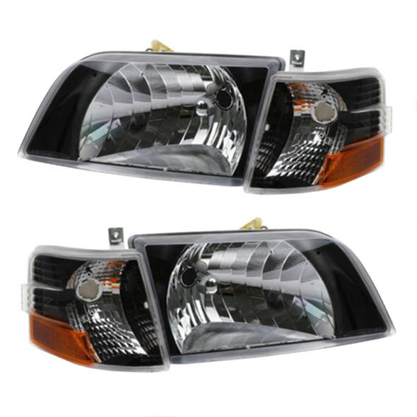 Volvo VNL Series Blackout Performance Headlight/Turn Signal Assembly