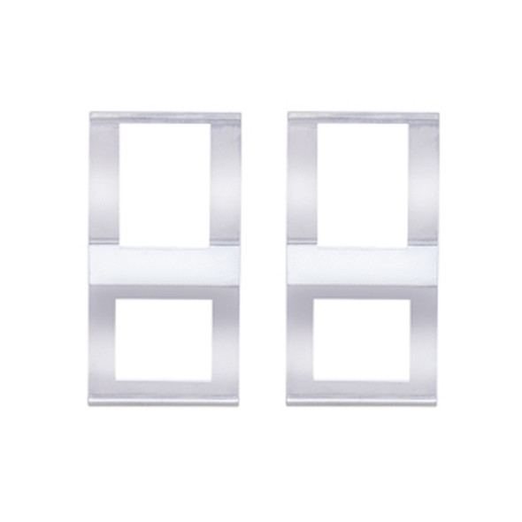 Freightliner Cascadia Chrome Switch Cover Pair