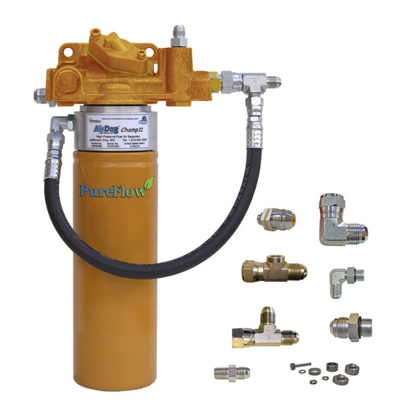 AirDog® Champ II Spin-On Fuel Air Separator Cat 3406E