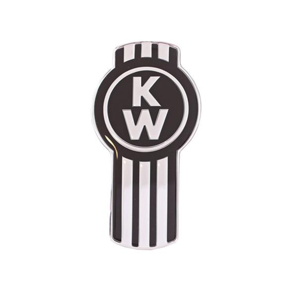 Black Original Kenworth Logo Tractor Trailer Air Brake Knob