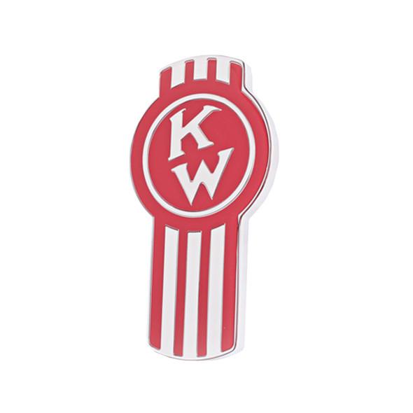Kenworth Old Style Emblem - Red