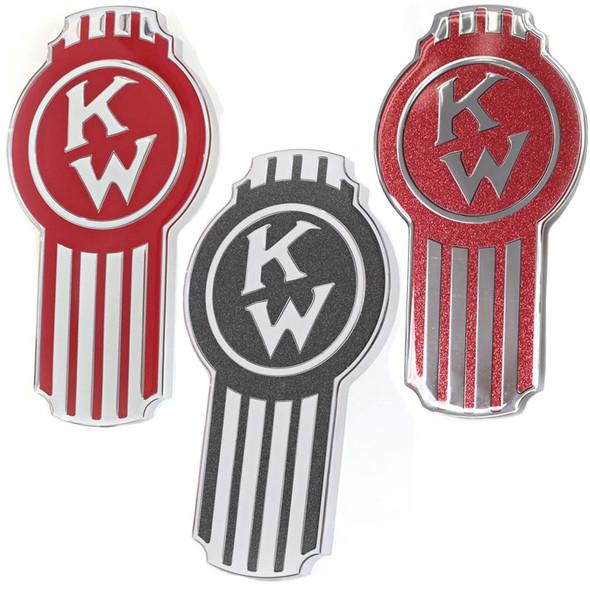 Kenworth Old Timer Style Hood Emblem Options