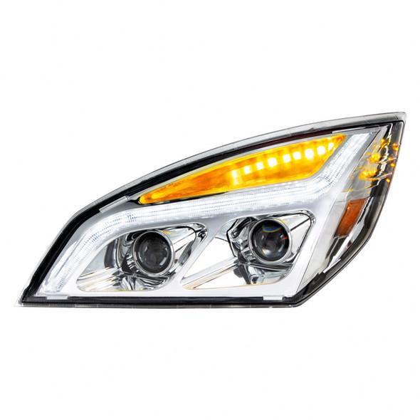 LED Projection Headlight Chrome Drivers Side