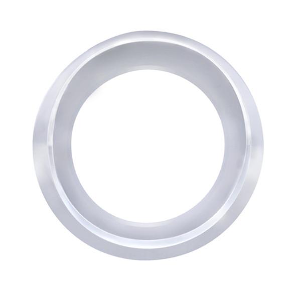 Chrome Gauge Cover With Visor