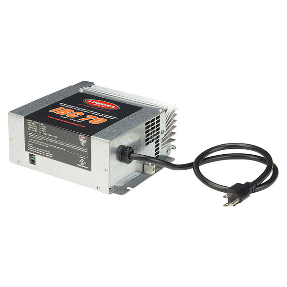 Tundra 70 Amp On Board Intelligent Battery Charger And Converter - Side View