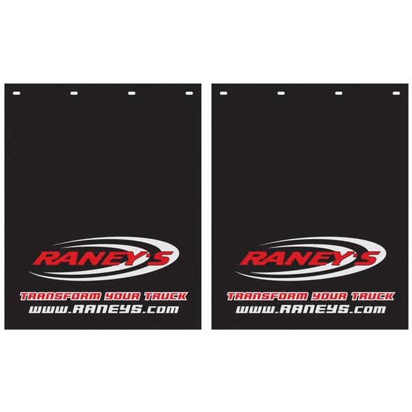 "Raneys Logo Mud Flap 24"" x 30"" (Pair)"