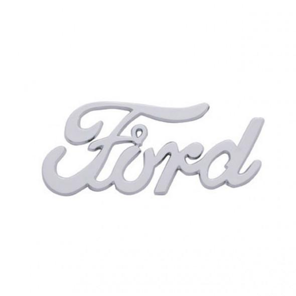 Ford Vintage Chrome Emblem