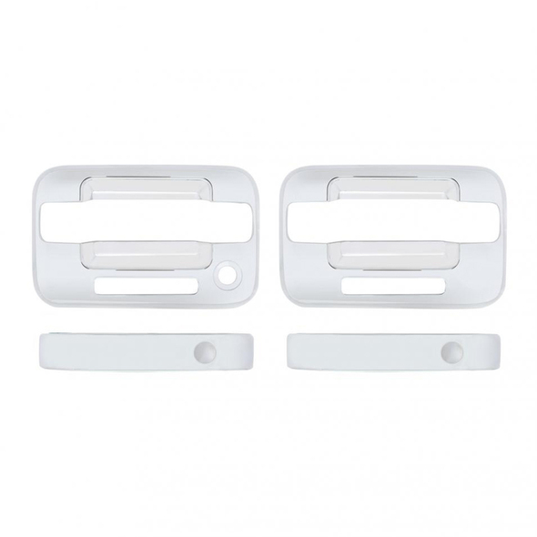 Ford F150 2004-2015 Chrome Door Handle Keyless Cover Set