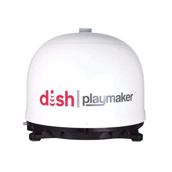 Playmaker Dish Satellite Antenna With Wally Receiver - Close Up