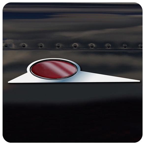 Peterbilt Stainless Steel Blade Emblem Trim