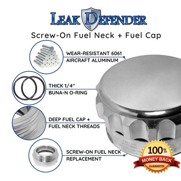 Volvo Leak Defender Fuel Cap & Collar Kit
