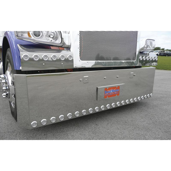 Peterbilt 388 389 Stainless Steel Tow Pin Covers