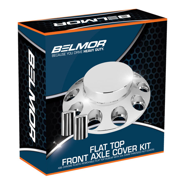 Belmor Flat Top Front Axle Cover Kit Boxed