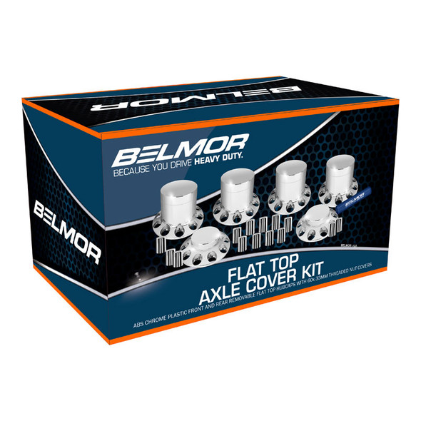 Belmor Flat Top Axle Cover Kit Boxed